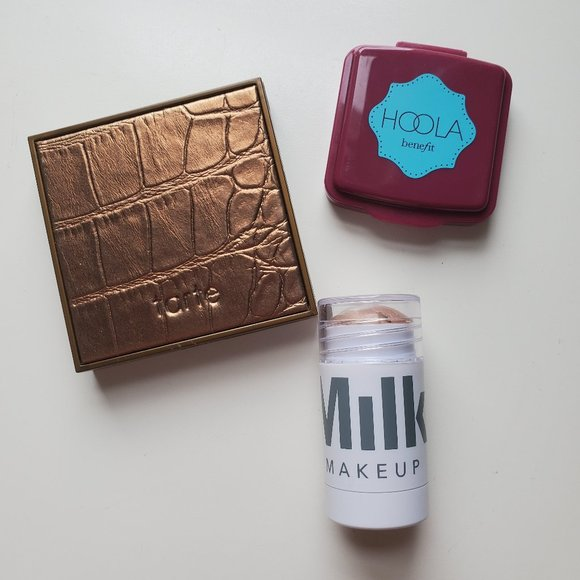 Travel size bronzers/highlighter